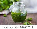 Green Tasty Herb Sauce Marinad...