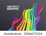 colorful arrows that extend in...   Shutterstock .eps vector #2046672314