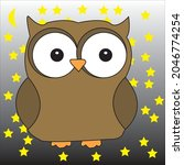 An Owl In Illustrator. You Can...