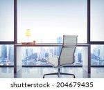 empty office work place | Shutterstock . vector #204679435
