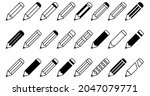 pencil icon set  pencil vector...