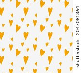 cute seamless pattern with... | Shutterstock .eps vector #2047081364