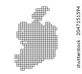 ireland map silhouette from...   Shutterstock .eps vector #2047151594