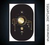 luxury space explore the... | Shutterstock .eps vector #2047169351
