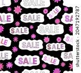 sale words cloud  business... | Shutterstock .eps vector #2047192787