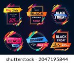 big sale 2018  black friday and ... | Shutterstock .eps vector #2047195844
