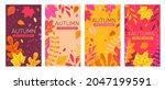 set autumn banners full of... | Shutterstock .eps vector #2047199591