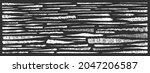 scribbles grunge set. doodles...   Shutterstock .eps vector #2047206587