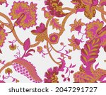 Colorful Paisley Wallpaper....