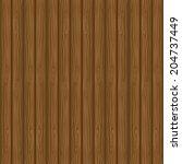 vector texture of brown wood ... | Shutterstock .eps vector #204737449