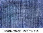 pattern background of batik... | Shutterstock . vector #204740515