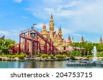 singapore   june 25  tourists... | Shutterstock . vector #204753715