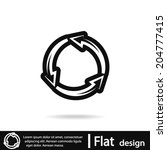 icon  vector illustration. flat ...