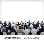 group of business people... | Shutterstock . vector #204780349