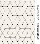vector seamless pattern. modern ... | Shutterstock .eps vector #204788941