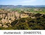 View Of Volcanic Rock...