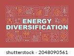 energy diversification word...