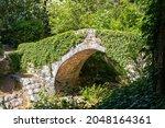 Old Stone Footbridge Over A...