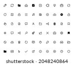 collection web icon for ui and...