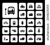 vector basic icon for transport | Shutterstock .eps vector #204825055