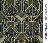 vector modern geometric tiles... | Shutterstock .eps vector #2048401691