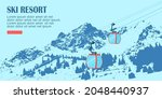 ui design of ski resort....