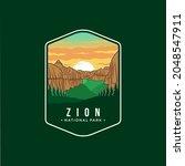 Zion National Park Emblem Patch ...