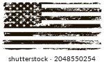 grunge usa flag. american flag...   Shutterstock .eps vector #2048550254