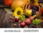 Autumn Harvest   Fresh Fruits...