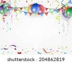festival and holiday background | Shutterstock . vector #204862819
