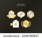gold leaf high quality label... | Shutterstock .eps vector #2048780837