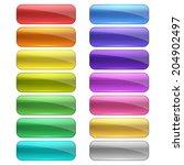 web buttons set | Shutterstock .eps vector #204902497