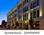 victoria  bc   circa july 2014  ... | Shutterstock . vector #204906949