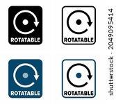 """rotatable"" property vector... | Shutterstock .eps vector #2049095414"
