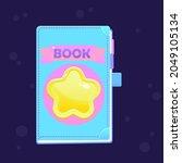 game ui icon magic book tale...
