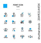 various point color icon... | Shutterstock .eps vector #2049214454