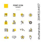 various point color icon... | Shutterstock .eps vector #2049214457