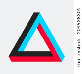 triangle background. vector...