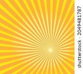 starburst  sunburst background. ... | Shutterstock .eps vector #2049481787