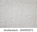 White Mortar Wall Texture...