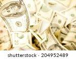 american 100 dollar bill...