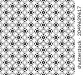 black and white surface pattern ...   Shutterstock .eps vector #2049639617
