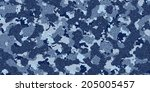 Camouflage Fabric Texture
