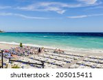 nice  france   june 25  2014 ... | Shutterstock . vector #205015411