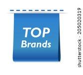vector beautiful top brands web ...
