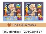 funny mummy walks through... | Shutterstock .eps vector #2050254617