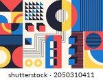 geometry minimalistic artwork...   Shutterstock .eps vector #2050310411