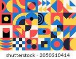 geometry minimalistic artwork...   Shutterstock .eps vector #2050310414