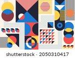 geometry minimalistic artwork...   Shutterstock .eps vector #2050310417