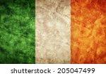 Ireland Grunge Flag. Vintage ...